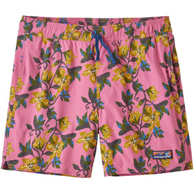 "Patagonia Stretch Wavefarer Volley Shorts 16"" Men squash blossom/marble pink"